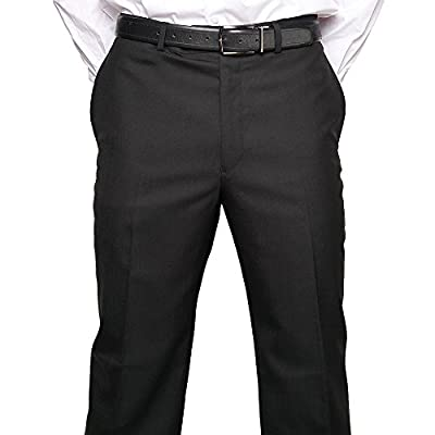 Calvin Klein Dress Pants For Men Classic Flat Front Style Trousers