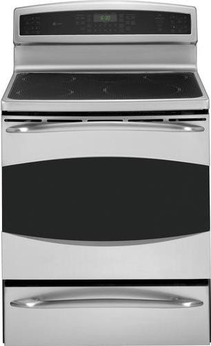 Ge Profile : Phb925Spss 30 Freestanding Induction Range, 5 Cooking Zones, Convection, Self Clean