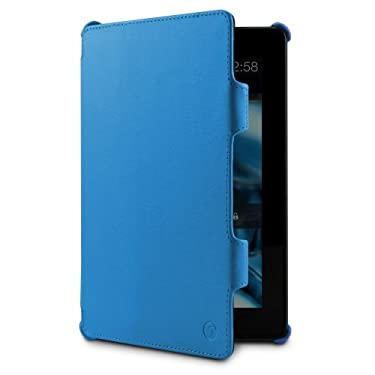 "MarBlue Slim Hybrid Standing Case for Kindle Fire HDX 7"", Blue"