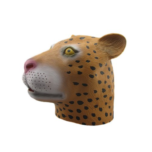 The Beauty-Way Leopard Mask Halloween Mask