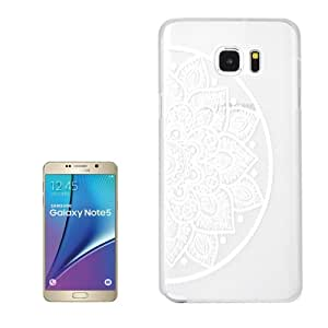 Crazy4Gadget Ultra -Thin Hollow Carved Flower Pattern Transparent Frame PC Protective Case for Samsung Galaxy Note 5 / N920