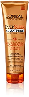 L'Oreal Paris EverSleek Sulfate Free Smoothing System Intense Smoothing Conditioner, 8.5 fl….