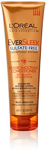 L'Oreal Paris discount duty free L'Oreal Paris EverSleek Sulfate Free Smoothing System Intense Smoothing Conditioner, 8.5 fl. Oz.