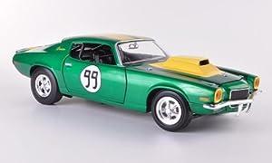 Chevrolet Camaro 350, No.99, ''The Dukes of Hazzard - Cooter's Chevy Camaro'' , 1970, Model Car, Ready-made, Johnny Lightning 1:18