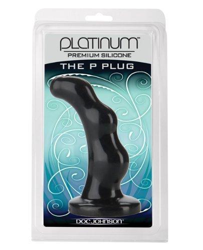 Doc Johnson Platinum- The P-spot Black