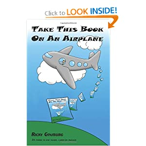 Take This Book On An Airplane by Ricky Ginsburg