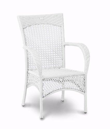 sessel korbsessel gartenstuhl valencia bxtxh 64x65x95 wei. Black Bedroom Furniture Sets. Home Design Ideas