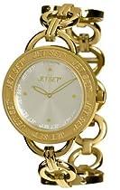 Jet Set Of Sweden Beverly Hills Gold Dial Ladies Watch #J55978-742