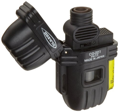 Buy Blazer CG-001 Wide Flame Butane Refillable Torch Lighter, Black