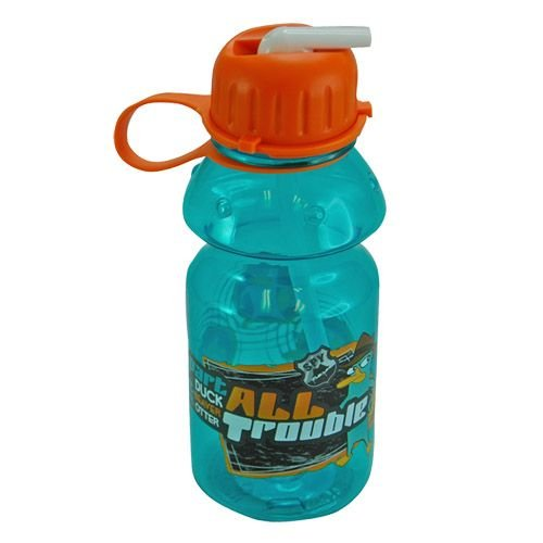 WeGlow International Phineas and Ferb Tritan Water Bottle, 14-Ounce - 1