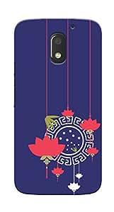 Kaira High Quality Printed Designer Back Case Cover For Motorola Moto E3 Power(Lotus)