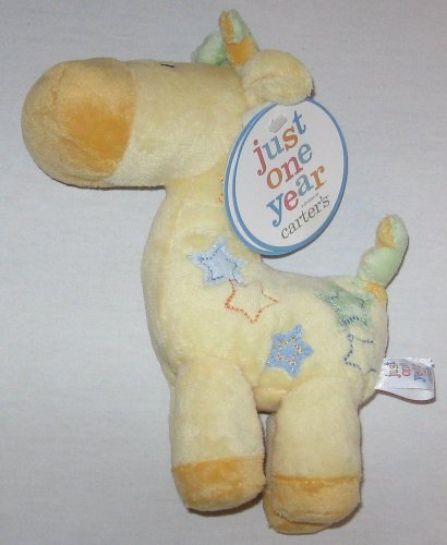Carter's Just One Year Plush Giraffe Rattle - 1