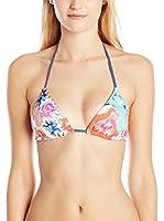 Splendid Sujetador de Bikini Full Bloom Rev Tri Bra (Multicolor)