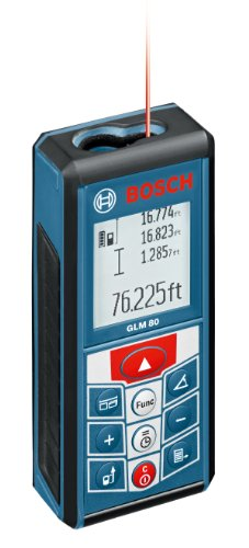Bosch GLM 80 265-Feet Lithium-Ion Laser Distance Measurer (Measure Laser Bosch compare prices)
