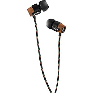 House of Marley Redemption Song In-Ear Headphones with 3 Button Mic - Midnight Black