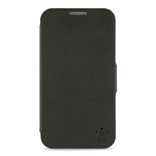 Belkin Snap Folio Case/Cover with Stand for Samsung Galaxy Note II - F8M511ttC00 - Black
