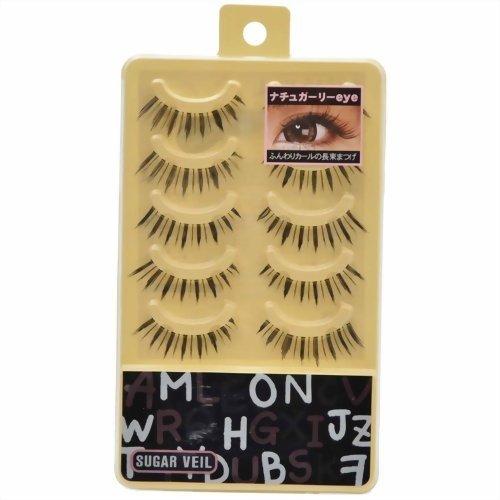 SUGARVEILつけまつげ ナチュガーリー eye ファッション 美容 アイラッシュ つけまつげ つけまつ毛