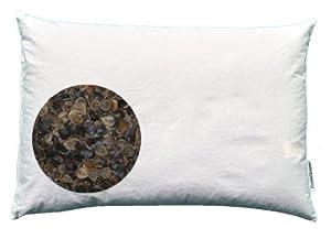 "Beans72 Organic Buckwheat Pillow - Japanese Size (14"" x 20"")"