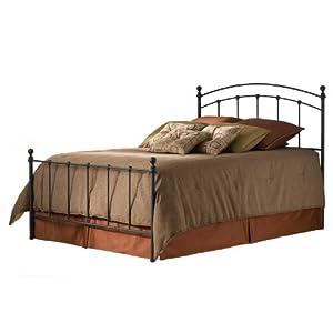 Fashion Bed Group Sanford Bed, Matte Black, Queen