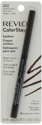 Revlon ColorStay Eyeliner Pencil # 202 Black Brown 0.29g by Revlon