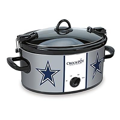 Crock-Pot NFL SCCPNFL600-SS Cook and Carry Slow Cooker, 6-Quart-P