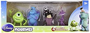 Beverly Hills Teddy Bear Company Monsters Inc. Toy Figure, 4-Pack by Beverly Hills Teddy Bear Company