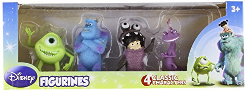 Beverly Hills Teddy Bear Company Monsters Inc. Toy Figure, 4-Pack (Monster Inc Figures compare prices)