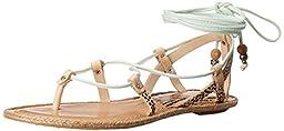 Dolce Vita Women\'s Karma Gladiator Sandal, Mint Multi, 8 M US
