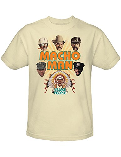 Village People Macho Man Pop Music Dance Floor 70s Move T-Shirt