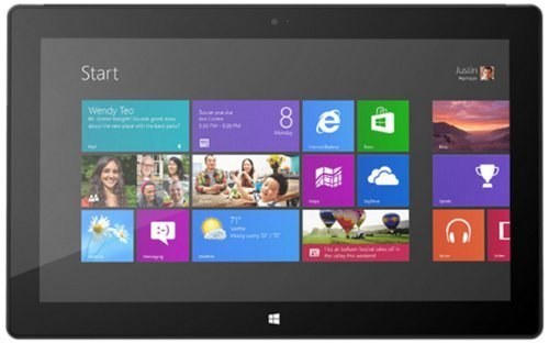 Microsoft Surface Pro 64GB Tablet (4GB, Windows 8 Pro, Wi-Fi) (Laptop Windows 8 Pro compare prices)