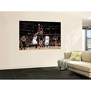 (48x72) Noah Graham - San Antonio Spurs v Los Angeles Clippers: George Hill, DeAndre Jordan and Baron Davis Huge Wall Mural