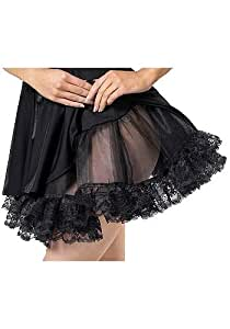 Amazon.com : Black Lace Petticoat. Halloween Costumes. : Everything