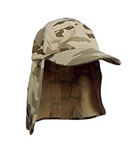 Brown desert camo foreign legion fishing sun for Fishing hats for sale