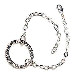 Infinity Silver-dipped Link Bracelet