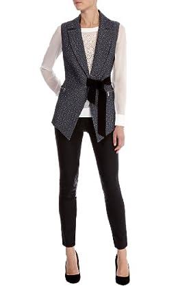 Tailored jacquard waistcoat