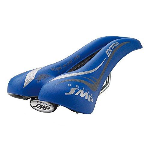 Selle SMP Extra Fahrradsattel, Herren, Extra, blau