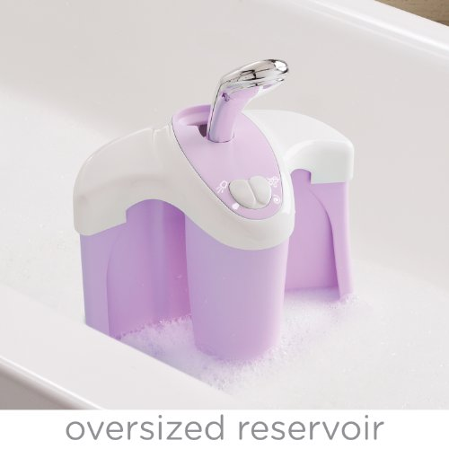 summer infant summer infant lil luxuries whirlpool bubbling spa and shower tub violet. Black Bedroom Furniture Sets. Home Design Ideas