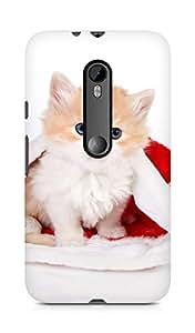 Amez designer printed 3d premium high quality back case cover for Motorola Moto G3 (Cat1)