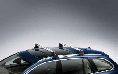 BMW Grundträger, abschließbar f. 5er Touring m. Dachreling Passend für 5er F11