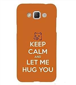 Let me Hug 3D Hard Polycarbonate Designer Back Case Cover for Samsung Galaxy Grand Max