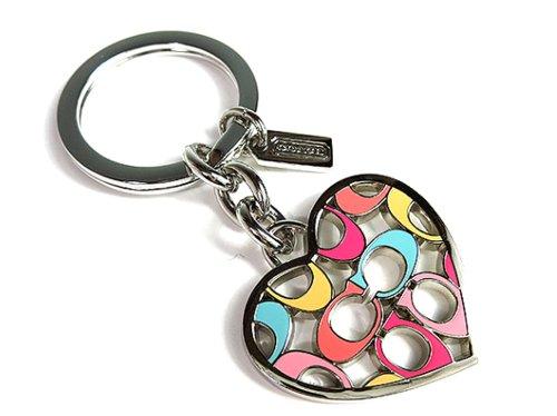Coach  Coach Logo Key Chain Key Ring