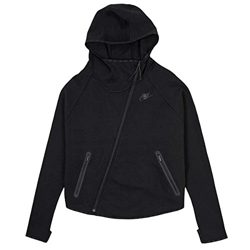 Nike Tech Fleece Butterfly FZ Hoodie Black/Black 617358-010 (M)