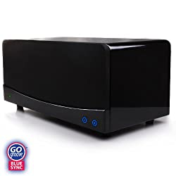 GOgroove BlueSync 35 Watt A2DP Bluetooth Home Stereo 2.1 Speaker System with Built-in Subwoofer for Tablets, Smartphones, MP3 players, Laptops and More Bluetooth Enabled Devices
