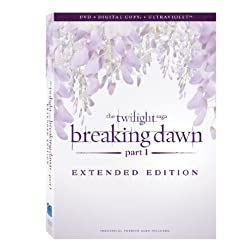 The Twilight Saga: Breaking Dawn - Part 1 (Extended Edition) [DVD + Digital Copy + UltraViolet]