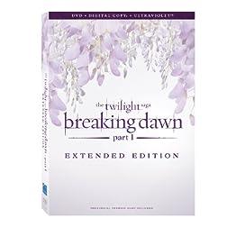 The Twilight Saga: Breaking Dawn - Part 1 (Extended Edition) [DVD + Digital Copy + UltraViolet]