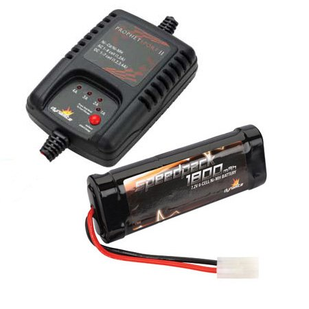 eHobbies Electric Car & Truck Starter Pack (Battery/Charger/AA's)