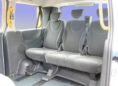 Town And Country Peugeot E7 Taxi Rear Seat Cover Set