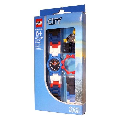 Imagen principal de Universal Trends Lego CT00329 City - Reloj de pulsera con juego de construcción [importado de Alemania]