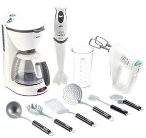 Theo klein braun toy kitchen set toys games for Kitchen set toys amazon