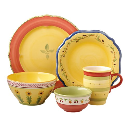 Buy Pfaltzgraff Pistoulet 40-Piece Dinnerware Set, Service for 8